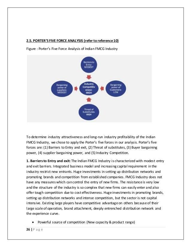 Vaundhara dissertation for Porter 5 forces reference
