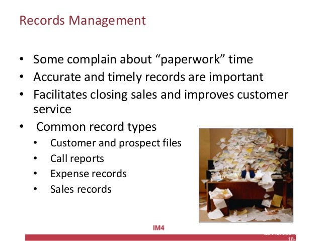 """Copyright © 2010 Pearson Education, Inc. Publishing as Prentice Hall Records Management • Some complain about """"paperwork"""" ..."""