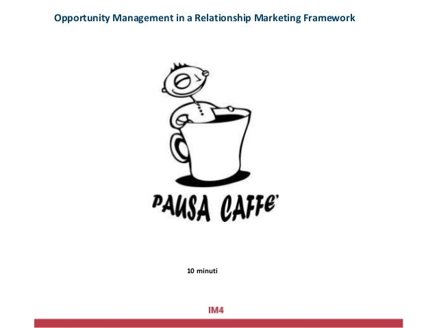 Example: Opportunity management in action