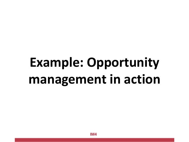 Example: Operational Sales & Marketing model Relationship activities Phisical events, presentaztions, participations to ev...
