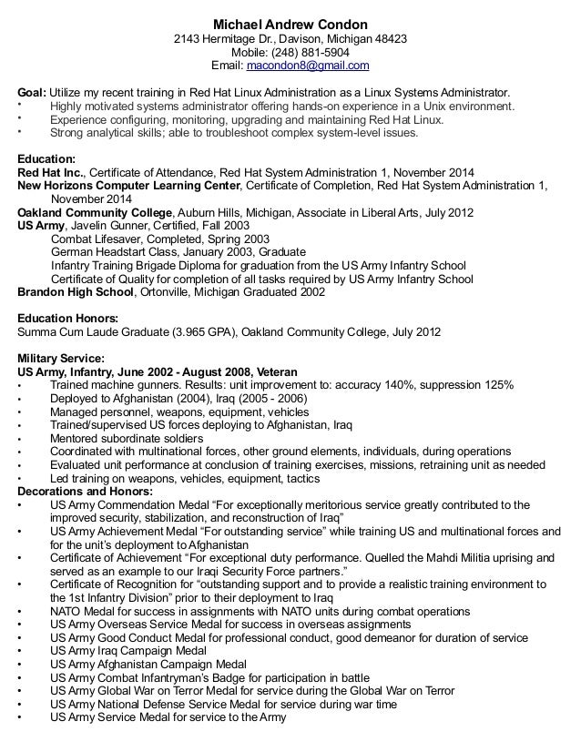ideas collection linux administrator sample resume also download