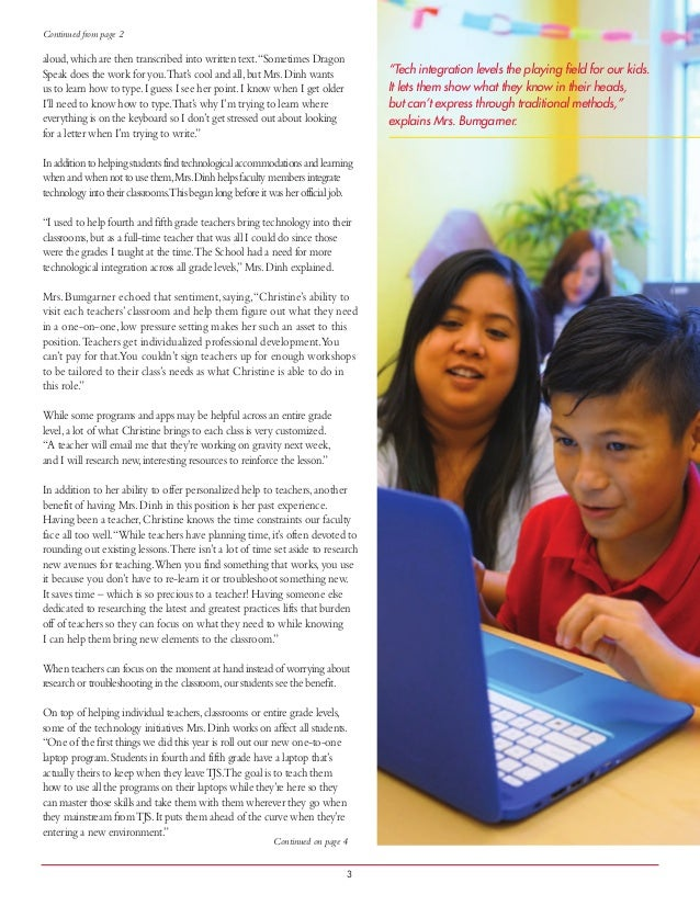 Leveling Playing Field For Our Kids >> Leveling The Playing Field Article For Web