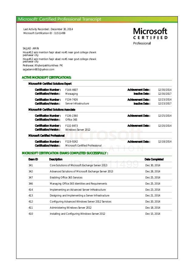 Microsoft Transcriptpdf