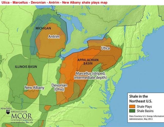 Utica Playppt - Us shale plays map