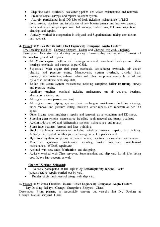 Fine Anglo Eastern Ship Management Resume Ensign - Best Resume ...
