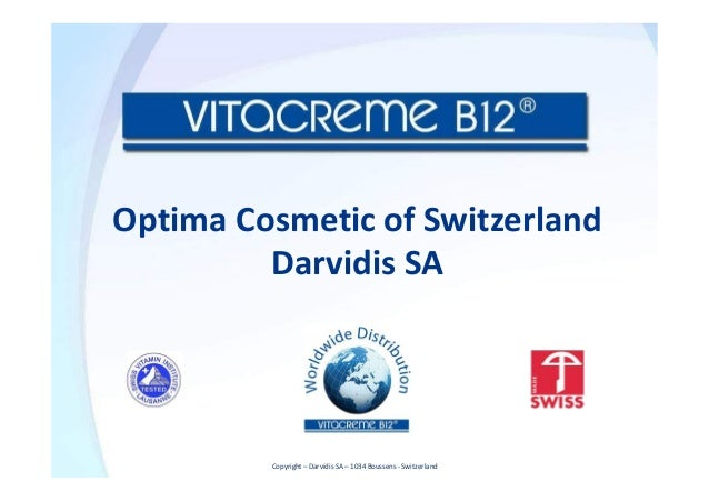 Optima Cosmetic of Switzerland Darvidis SA Copyright – Darvidis SA – 1034 Boussens - Switzerland