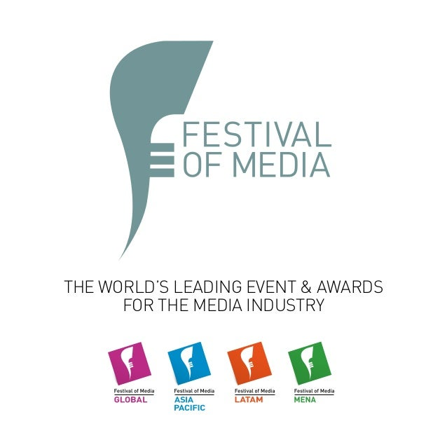 THE WORLD'S LEADING EVENT & AWARDS FOR THE MEDIA INDUSTRY