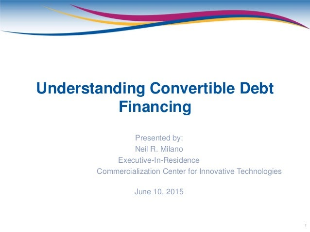 Convertible note presentation for Convertible note term sheet template
