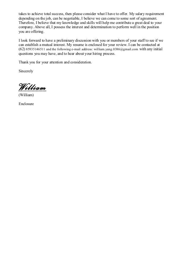 examples of cover letters of resume   Cover Letter Examples