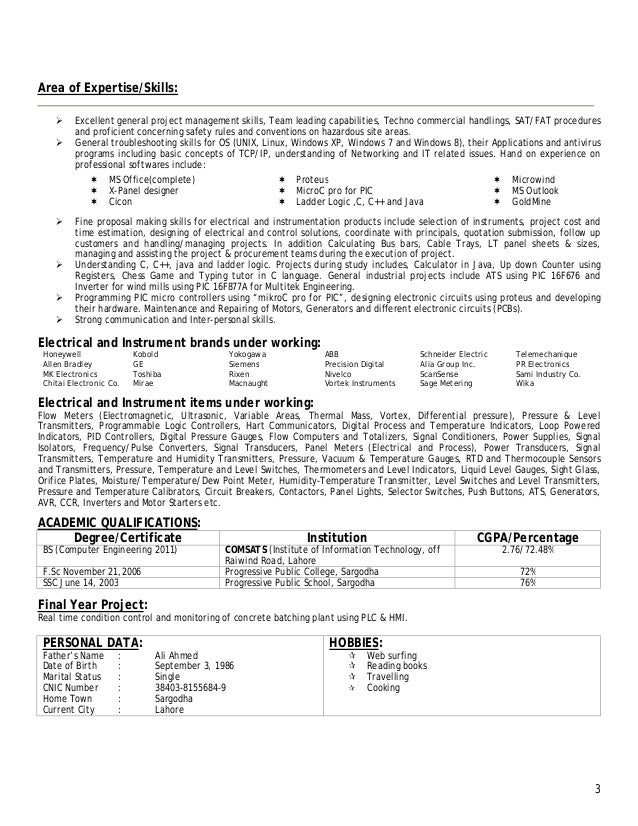 Areas Of Expertise On A Resumes. Resume Haris . Areas Of Expertise On A  Resumes