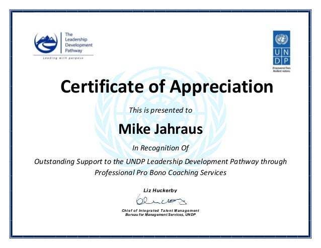160402 Un Certificate Of Appreciation