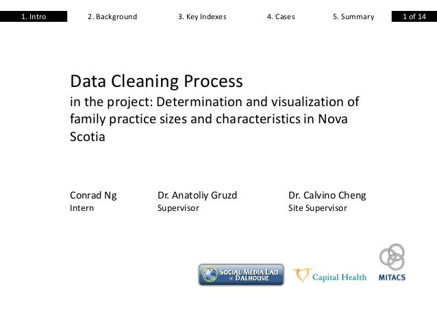 Data Cleaning Process in the project: Determination and visualization of family practice sizes and characteristics in Nova...