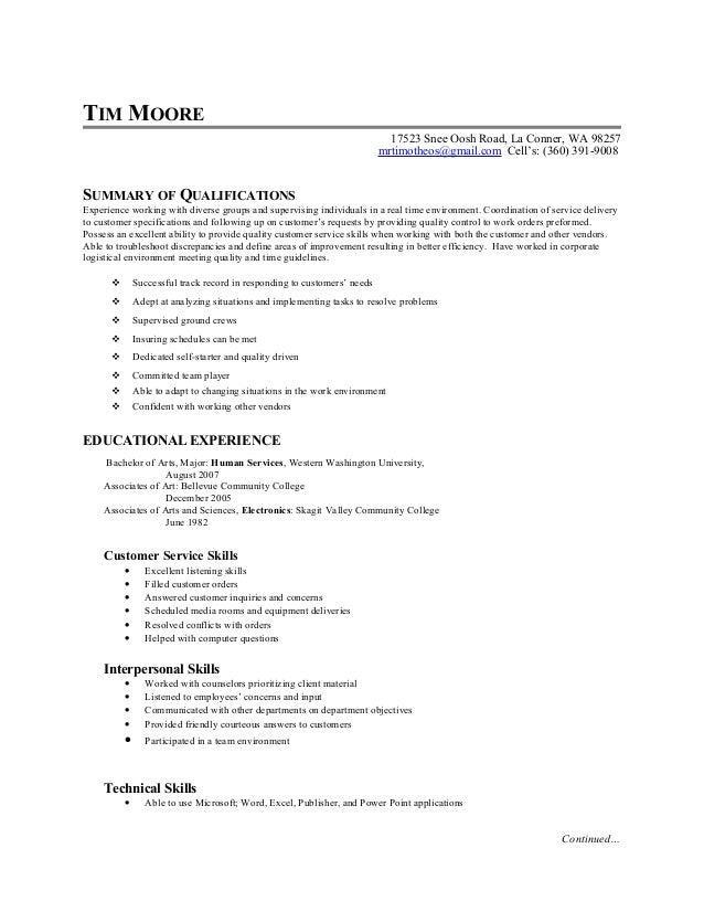 skill based resume marion tims skills based resume skagit 03 2015
