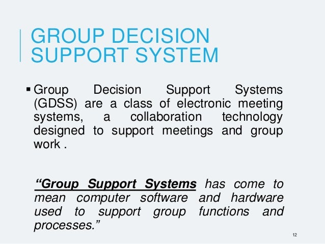 Group Decision System 51