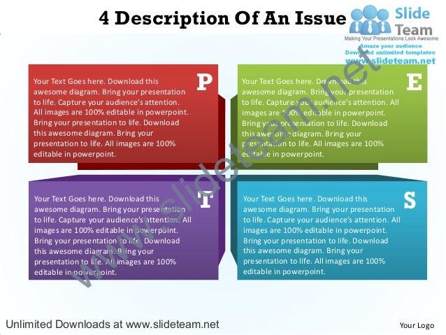 4 Description Of An Issue                                                                                            e t  ...