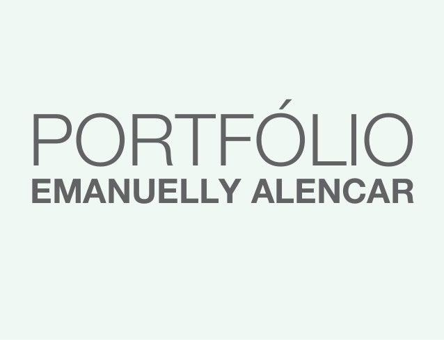PORTFÓLIO EMANUELLY ALENCAR