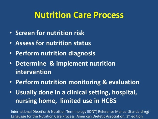 american dietetic association nutrition care manual