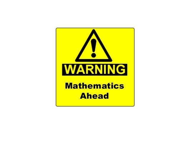 Mathematics Ahead