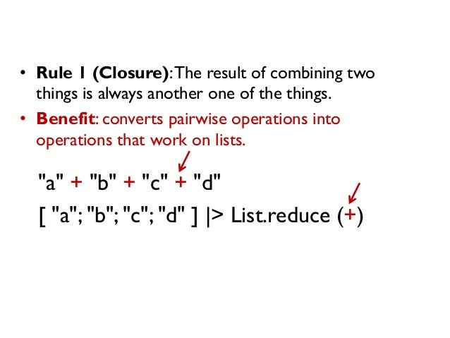 """""""a"""" + """"b"""" + """"c"""" + """"d"""" [ """"a""""; """"b""""; """"c""""; """"d"""" ] 