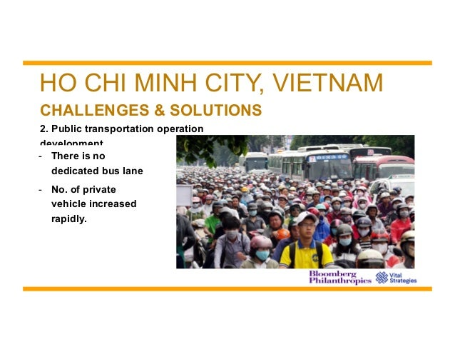 air pollution problem and strategies in ho chi minh city Air pollution in vietnam is not only a major concern for expats living in ho chi minh city, locals are also starting to see the difference in the air quality as well and it has gained more media attention.