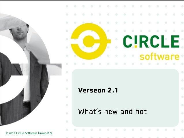 © 2012 Circle Software Group B.V.