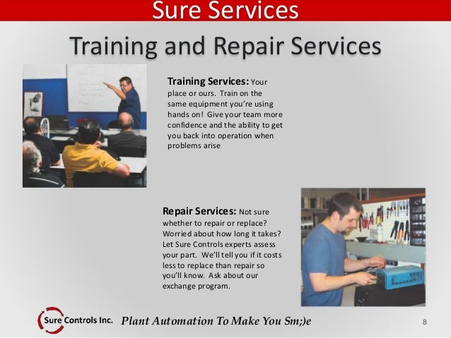 Plant Automation To Make You Sm;)e Repair Services: Not sure whether to repair or replace? Worried about how long it takes...