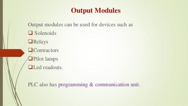 Plc programming thesis