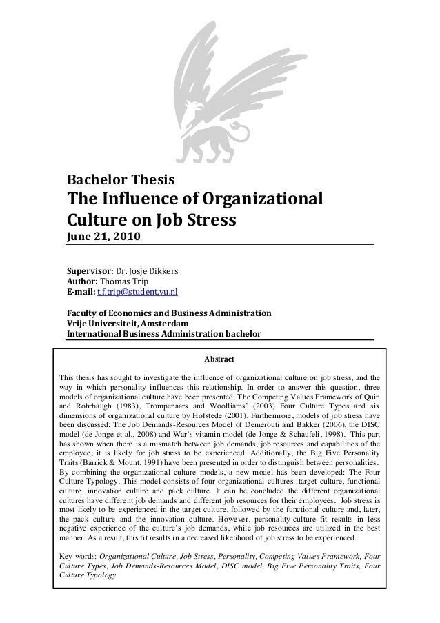 bachelor thesis discussion part Writing the conclusion chapter for your thesis uploaded by louise edwards connect to download get pdf writing the conclusion chapter for your thesis.
