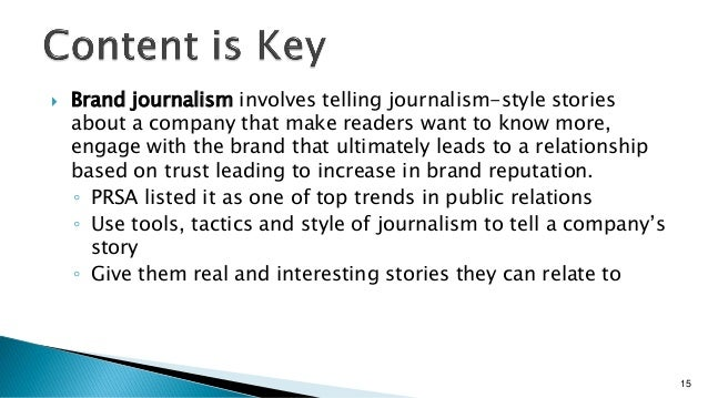 Content Marketing and Brand Journalism Strategy Ragan