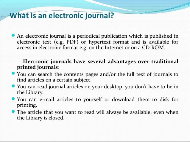 Definition of E - library02