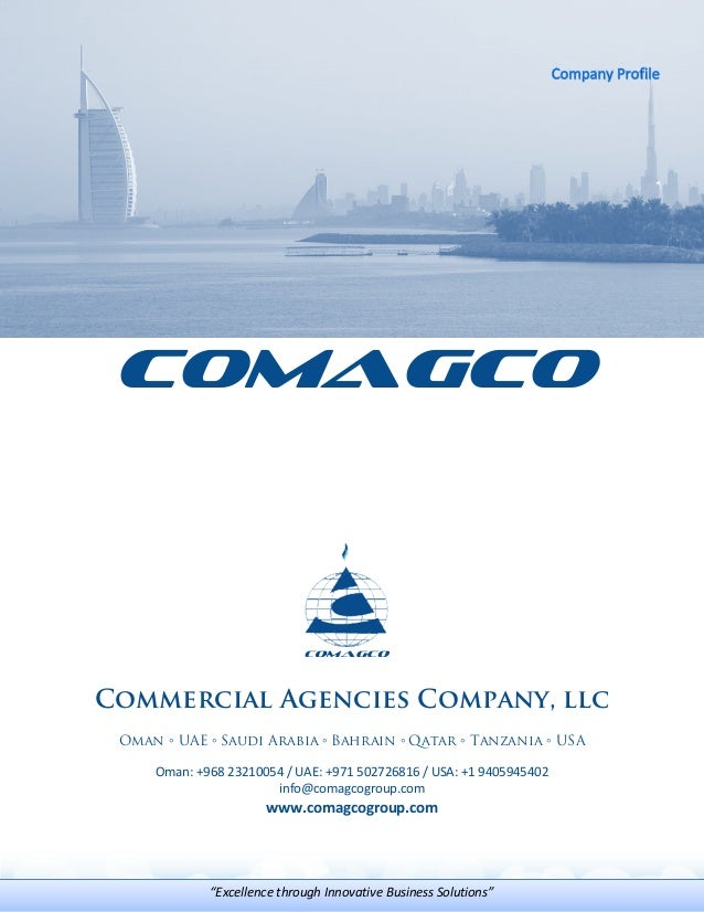 COMAGCO Group - Company Profile