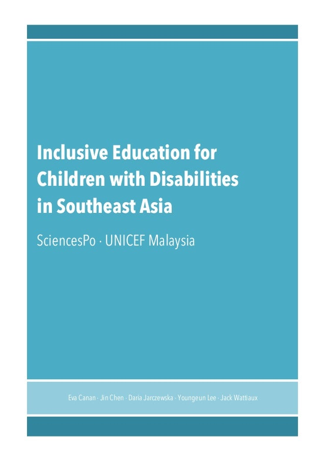 Master of Specialist Inclusive Education