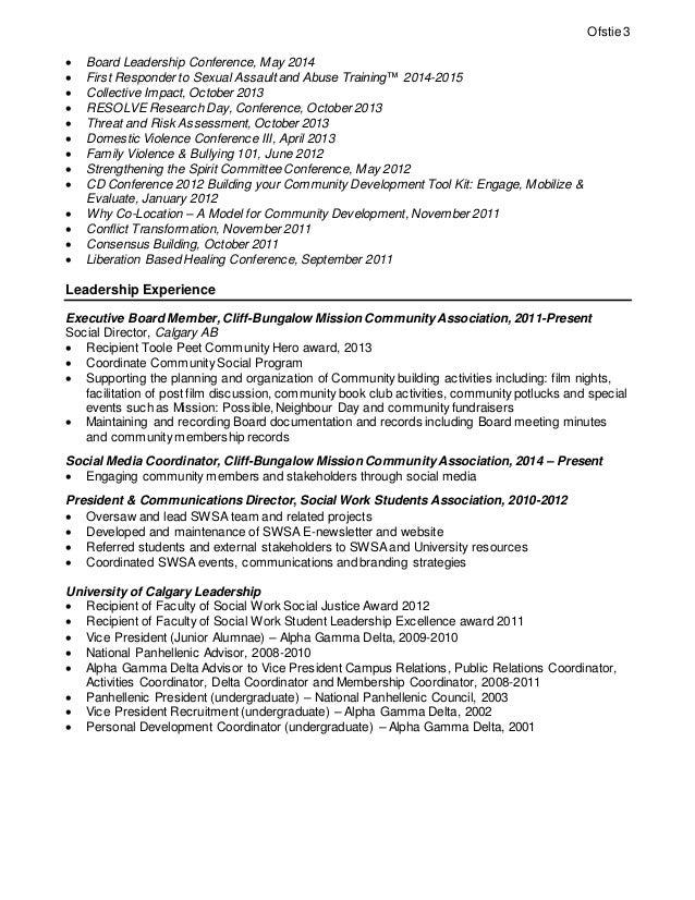 corinne ofstie resume 2015