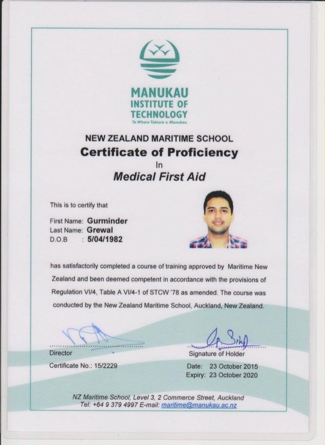 Advanced Stcw Certificates Mnz