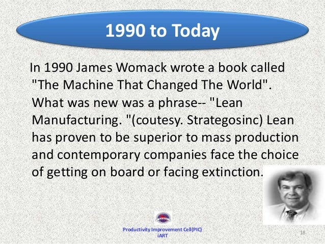 how has lean manufacturing changed throughout history