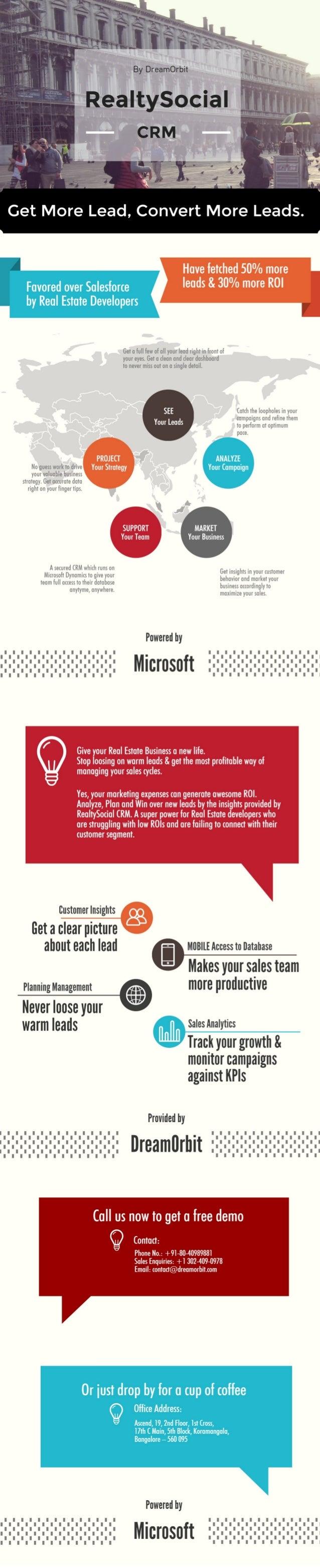 RealtySocial CRM Brochure