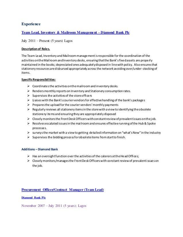 Professional Summary - LinkedIn Slide 2