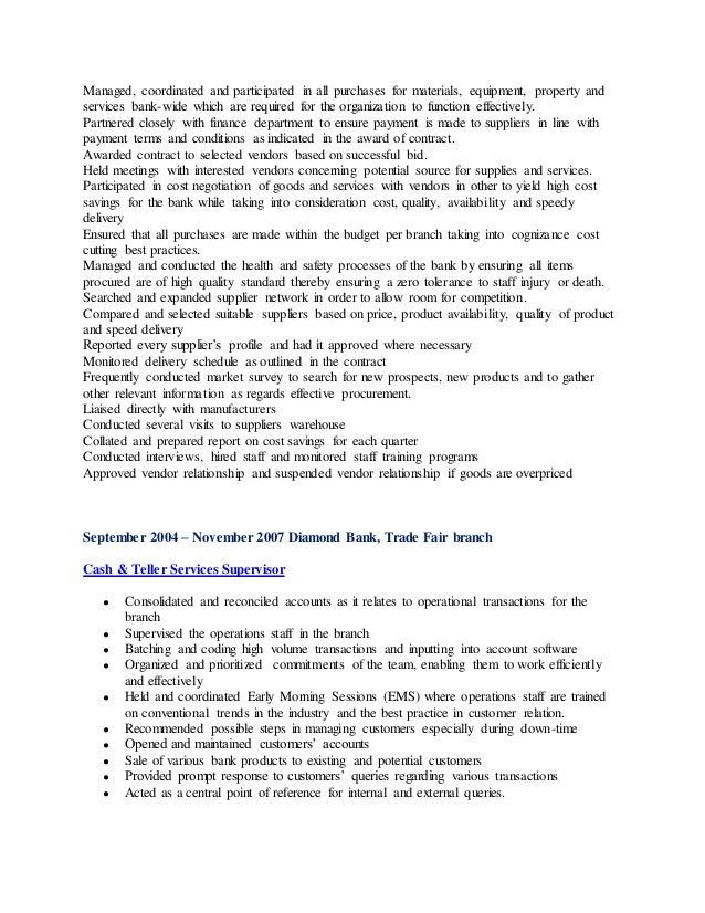 Professional Summary - LinkedIn Slide 3