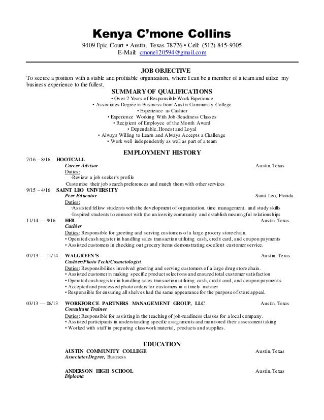 Cute Business Management Resume In Kenya Pictures Inspiration ...
