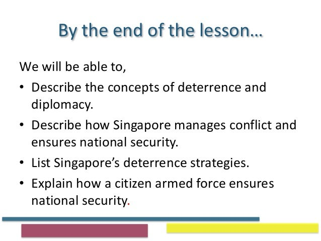 concepts of deterrence and diplomacy Deterrence strategies 20  diplomatic, guards, military etc)  the  concepts of acceptance, deterrence and protection need to be.