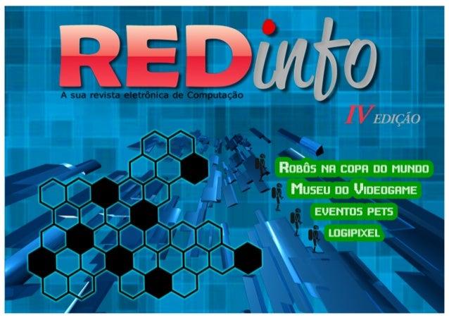 4ª edicao redinfo, a sua revista eletrônica de computação