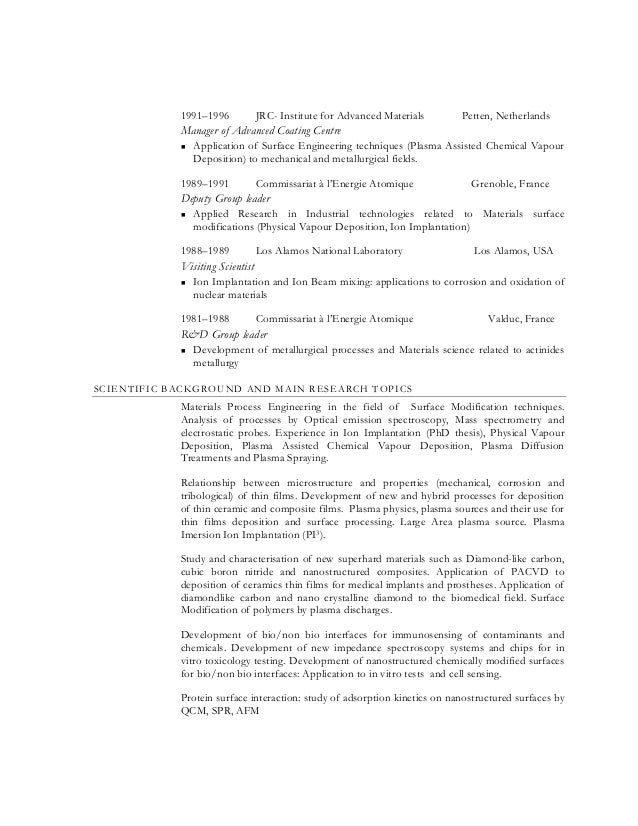 contract trainer resume