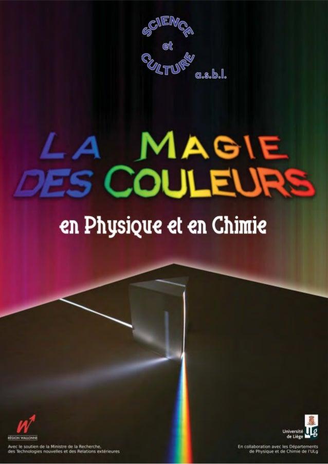 Illustrations couverture I : Dispersion de la lumière blanche à travers un prisme. couverture II : Tensions dans une latte...