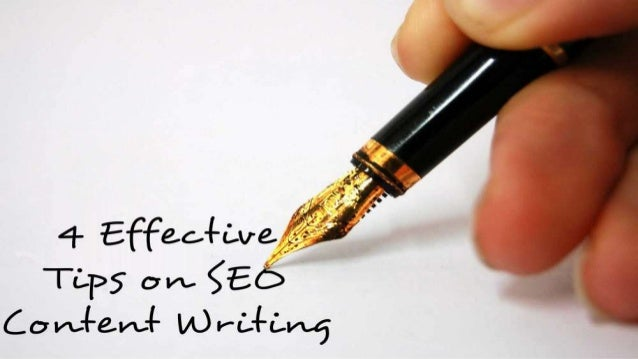 SEO content writing is not a tough task; the author must have a good understanding of seo. What is search engine, how it w...