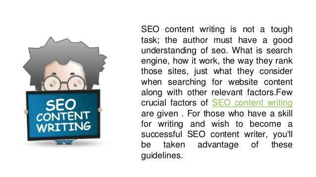 4 effective tips on seo content writing  Slide 2