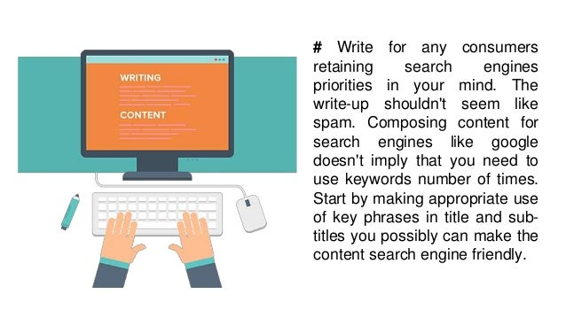 4 effective tips on seo content writing  Slide 3