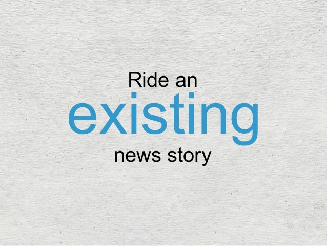 existing Ride an  news story