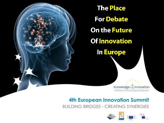 "This year's Summit is fuelled by an                  ""Innovative Europe Reality Check"" with major challenges and ideas des..."