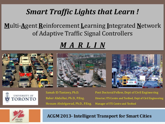 Smart Traffic Lights that Learn ! Multi-Agent Reinforcement Learni…