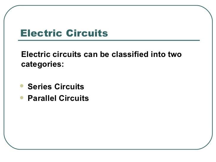 Electric Circuits Ppt Slides Slide 3